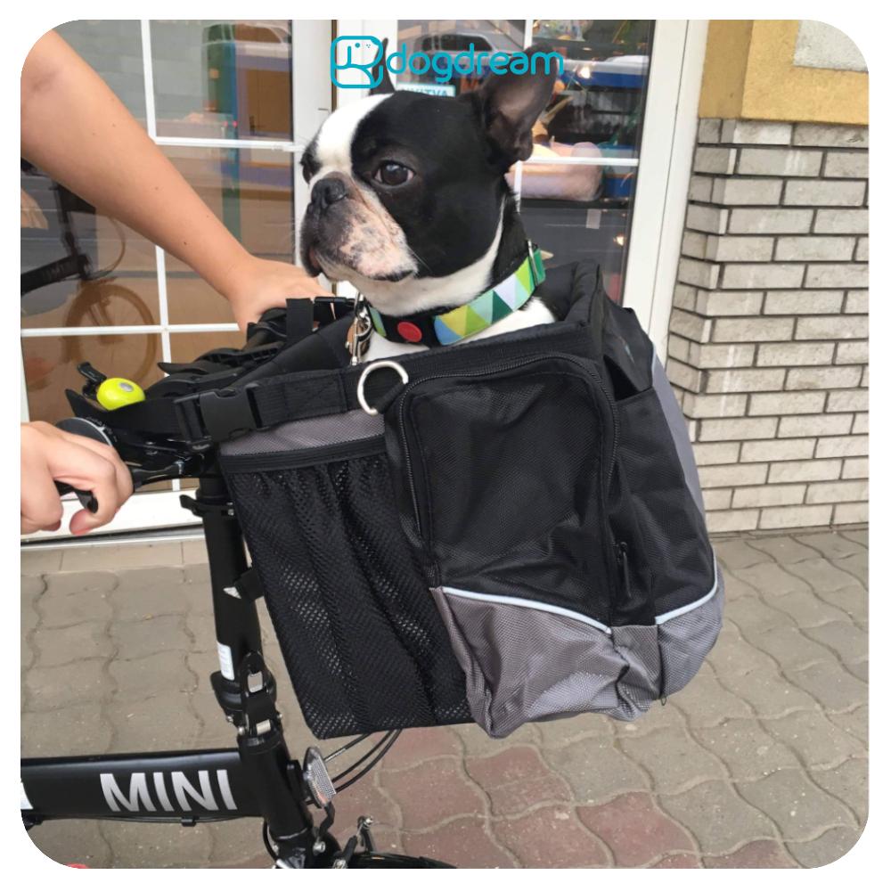 Kutya kosár biciklire